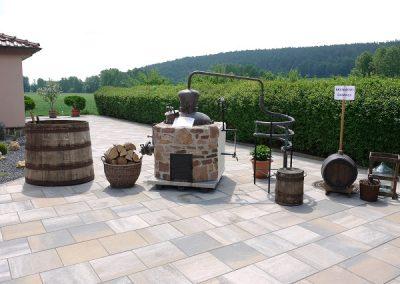 Edelbrennerei Hohmann - historische Brenngeräte